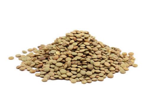 תמונה של לא אורגני - עדשים ירוקות במשקל
